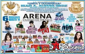 ARENA CUIDAD DE MEXICO 2014......