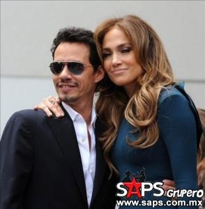 Marc Anthony aun es querido con locura por Jennifer López