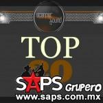 Top 20 de la Música Popular en México por Scanner Sound del 8 al 14 de Septiembre de 2014
