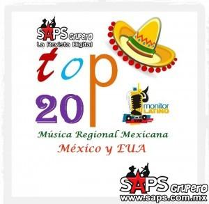 TOP 20 Monitor Latino México y EUA