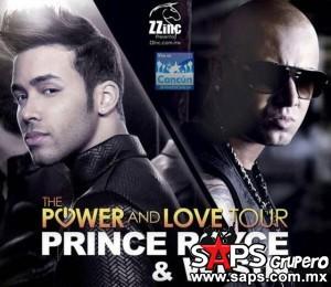 """Prince Royce y Wisin unirán sus talentos  para realizar el """"The Power And Love Tour"""""""