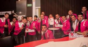Un gran éxito la presentación del primer disco de Banda La Ejecutiva
