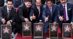 Los Tigres del Norte recibieron merecida estrella en el Paseo de la Fama de Hollywood