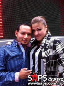 Arturo Roque y Marce Anaya