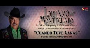 """""""Cuando Tuve Ganas"""" lo nuevo de Lorenzo De Monteclaro hoy a la venta en iTunes en USA"""