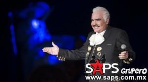 Vicente Fernández inicia su despedida como Rey en el Auditorio Nacional