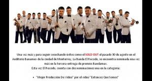 Banda El Recodo nominada una vez más en Premios Bandamax