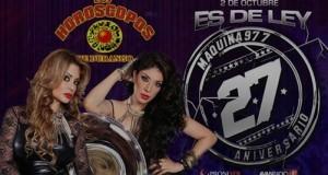 Los Horóscopos de Durango son parte del elenco en el 27 aniversario de La Máquina 97.7 FM