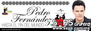 """Hoy espectacular lanzamiento en emisoras de """"Hasta El Fin Del Mundo"""" de Pedro Fernández"""