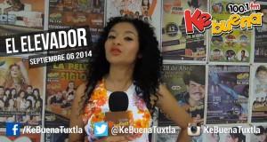 """El Elevador de la Ke Buena 100.1 FM presentado por Citlaly Núñez """"La Potranka"""". 08 de Septiembre de 2014"""