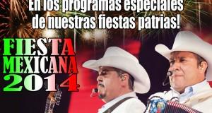 Pesado cantando en vivo en Fiesta Mexicana 2014