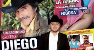 La edición de octubre de la revista Soy Grupero engalanada por Diego Verdaguer