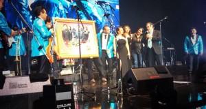 Los Ángeles Azules reciben disco Diamante y Platino