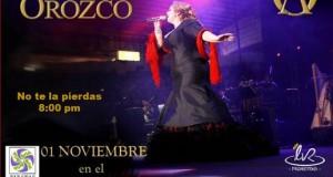 Alejandra Orozco estrena show con banda y mariachi