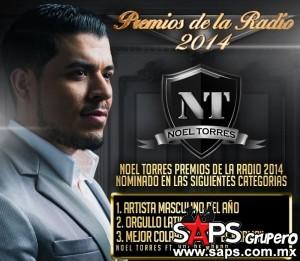 """Noel  Torres entre los más nominados a los """"Premios De La Radio 2014"""""""