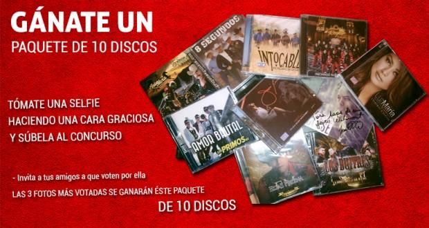 SAPS Grupero te regala 3 paquetes de 10 DISCOS COMPACTOS
