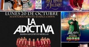 Galería Fotográfica del éxito de La Adictiva y La Número 1 Banda Jerez en las Fiestas de Octubre