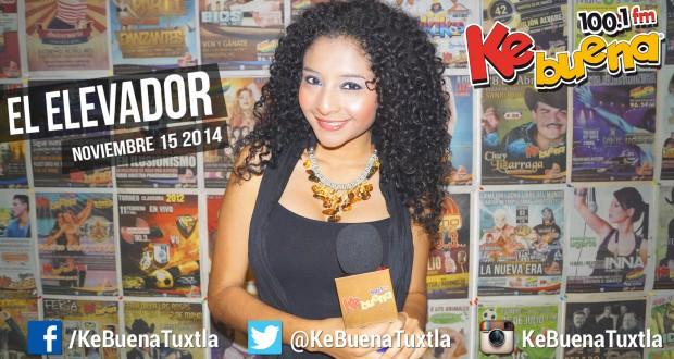 """El Elevador de la Ke Buena 100.1 FM presentado por Citlály Núñez """"La Potranka"""". 17 de Noviembre de 2014"""