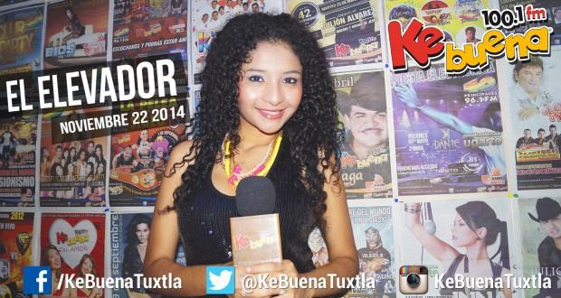 """El Elevador de la Ke Buena 100.1 FM presentado por Citlály Núñez """"La Potranka"""". 24 de Noviembre de 2014"""