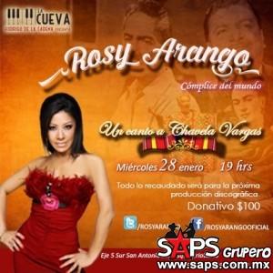 Rosy Arango canta a la gran Chavela Vargas