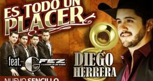 """Diego Herrera y Los Gfez vuelven hacer mancuerna con """"Todo Un Placer"""""""