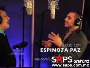 Espinoza Paz feliz por el dueto con Juan Gabriel