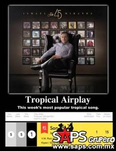 """Ismael Miranda en la cima de la revista Billboard con """"Son 45"""""""