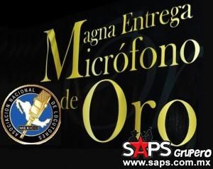 Magna entrega del Micrófono De Oro 2015
