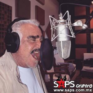 Vicente comienza grabación de nuevo disco