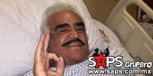 Vicente Fernández en recuperación tras cirugía de emergencia