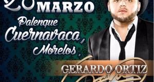 Gerardo Ortiz llega al Palenque de Cuernavaca
