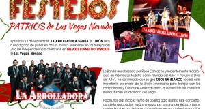 La Arrolladora Banda El Limón tendrá festejo patrio en Las Vegas