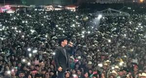 Se presenta Julión Álvarez y su Norteño Banda con gran éxito en Zacatecas