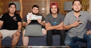 Colmillo norteño termina grabación de su más reciente producción discográfica