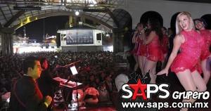 Rotundo éxito de grupo Aroma en la Feria Nacional del Sarape
