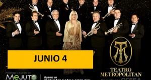 Rocío Banquells alista show con la Sonora Santanera