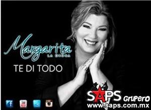 "Margarita La Diosa de la Cumbia presenta su nuevo sencillo ""Te Di Todo"""