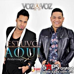 """Voz A Voz cautiva con su nuevo sencillo """"Estuvo Aquí"""""""
