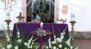 Fue levantada la cruz de Joan Sebastian en Juliantla