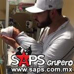 """Saúl """"El Jaguar""""  feliz y agradecido con el nacimiento de su hijo"""