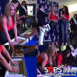 Marisol y Vicky Terrazas plasmaron sus huellas en Plaza de las Estrellas