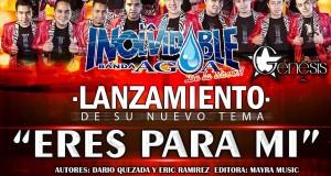"""La Inolvidable Banda Agua de La Llave estrena """"Eres Para Mí"""""""