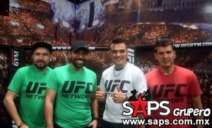 Instalaciones del UFC Gym parte del escenario del video de Banda El Recodo