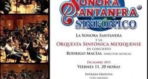 La Sonora Santanera ofrecerá concierto sinfónico en Ecatepec