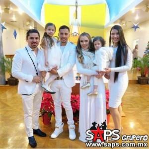Larry Hernández dio a conocer el bautizo de su hija Daleyza