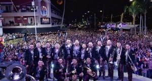 Más de 70 mil personas disfrutaron de Banda MS en el Carnaval de Mazatlán