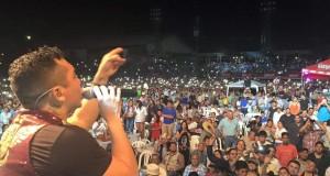 Memorable concierto de Edwin Luna Y La Trakalosa De Monterrey en el carnaval mazateco de Guatemala