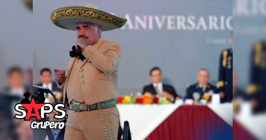 Vicente Fernández, Día del Ejército Mexicano