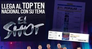 """Banda Tierra Sagrada llega al Top Ten Nacional con su tema """"El Shot"""""""
