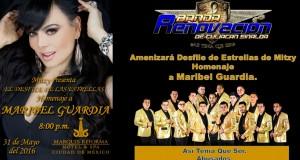 Banda Renovación, amenizará homenaje de Mitzy a Maribel Guardia